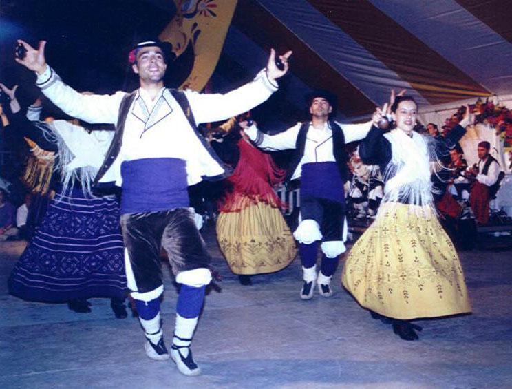 Grupo Folklórico Alto Aragón en Canadá