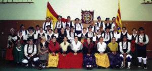 Grupo Folklórico Alto Aragón en Dijon