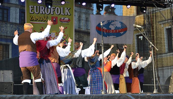 Actuaciones del Grupo Folklórico Alto Aragón