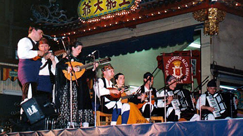 Grupo Folklórico Alto Aragón en Japón