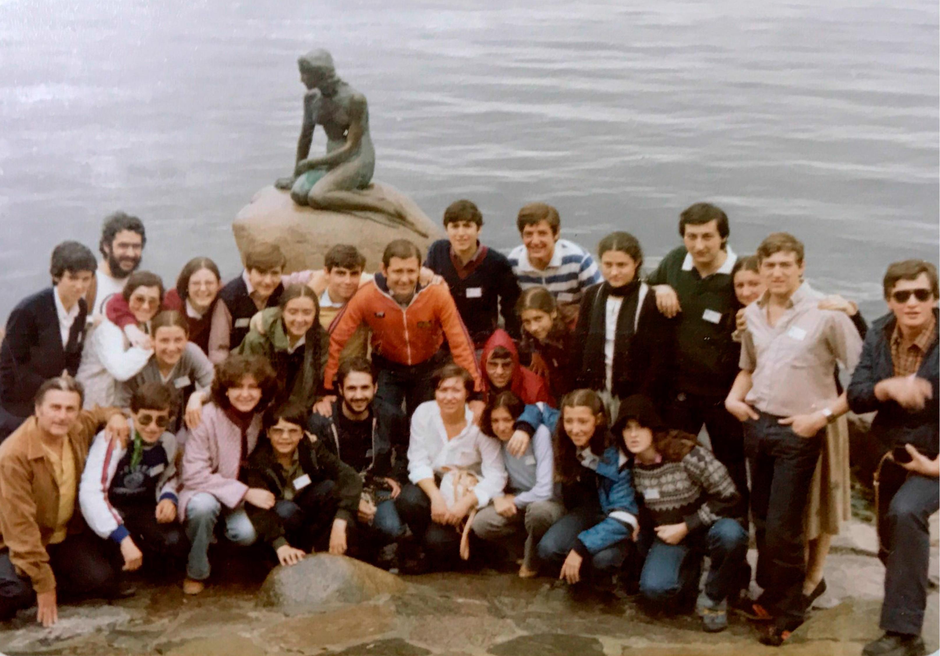 El Grupo Folklórico Alto Aragón en Dinamarca