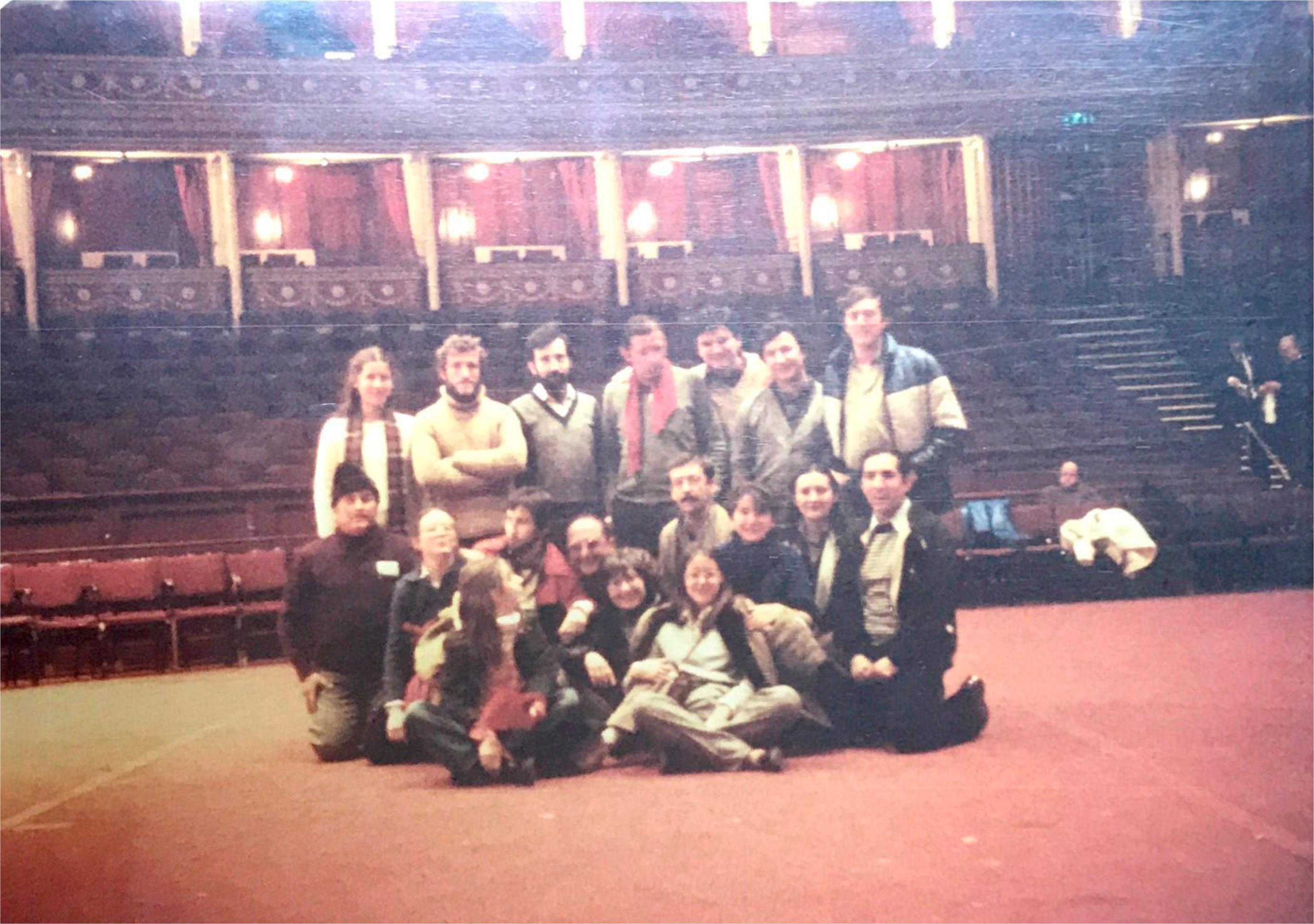 El Grupo Folklórico Alto Aragón en el Royal Albert Hall de Londres