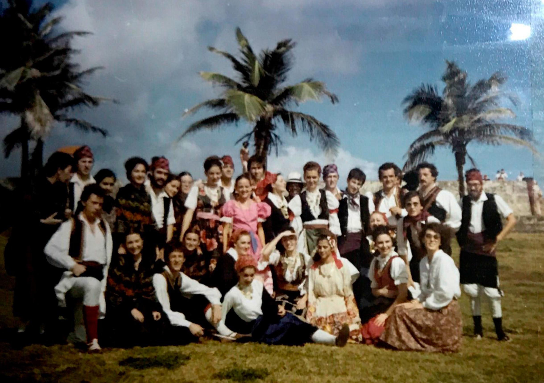 El Grupo Folklórico Alto Aragón en Puerto Rico