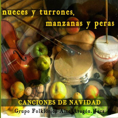 Disco de villancicos Grupo Folklórico Alto Aragón